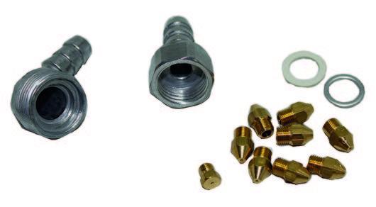 Inyectores gas butano balay 00153164 accesorios cocinas - Cocinas de gas butano balay ...