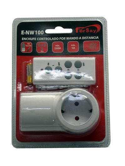 Enchufe inteligente con mando a distancia regletas fersay - Enchufes mando a distancia ...