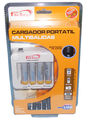 CARGADOR RAPIDO PARA MOVIL CONSOLAS+ 4 PILAS - Battery Charger - FERSAY