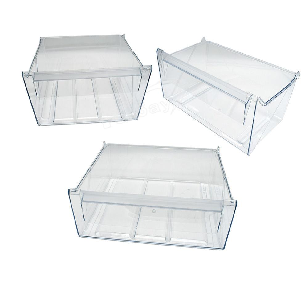 Kit de 3 cajones congelador intermedio 92505424201 Tiradores Botelleros Frigorí